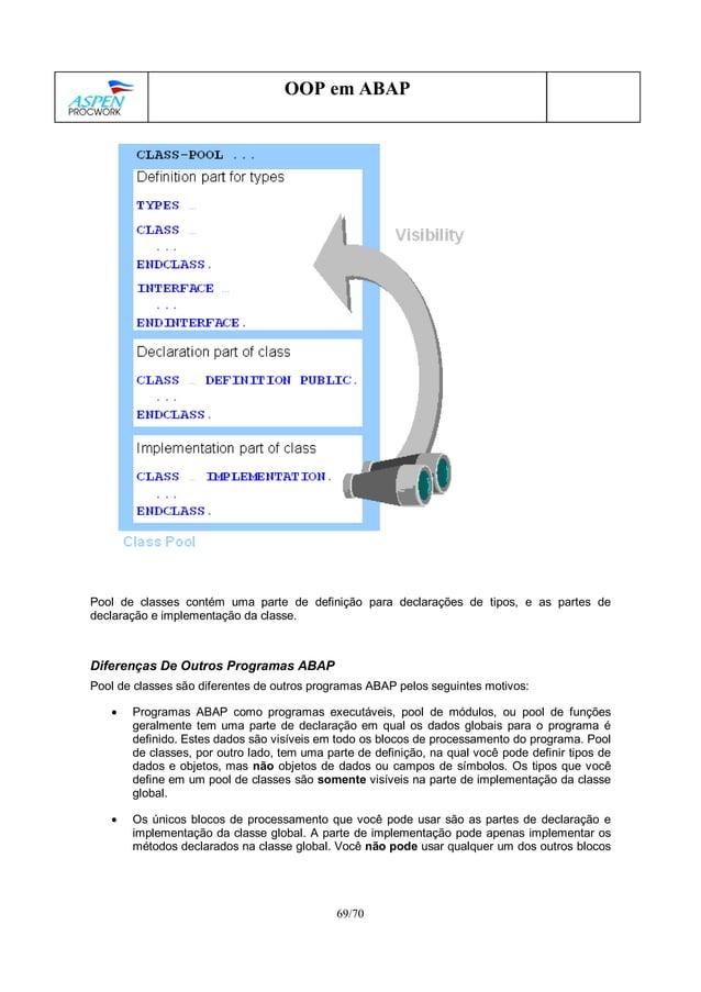 Linguagem ABAP