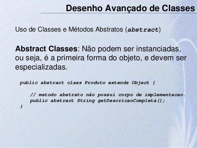 Classe concreta java