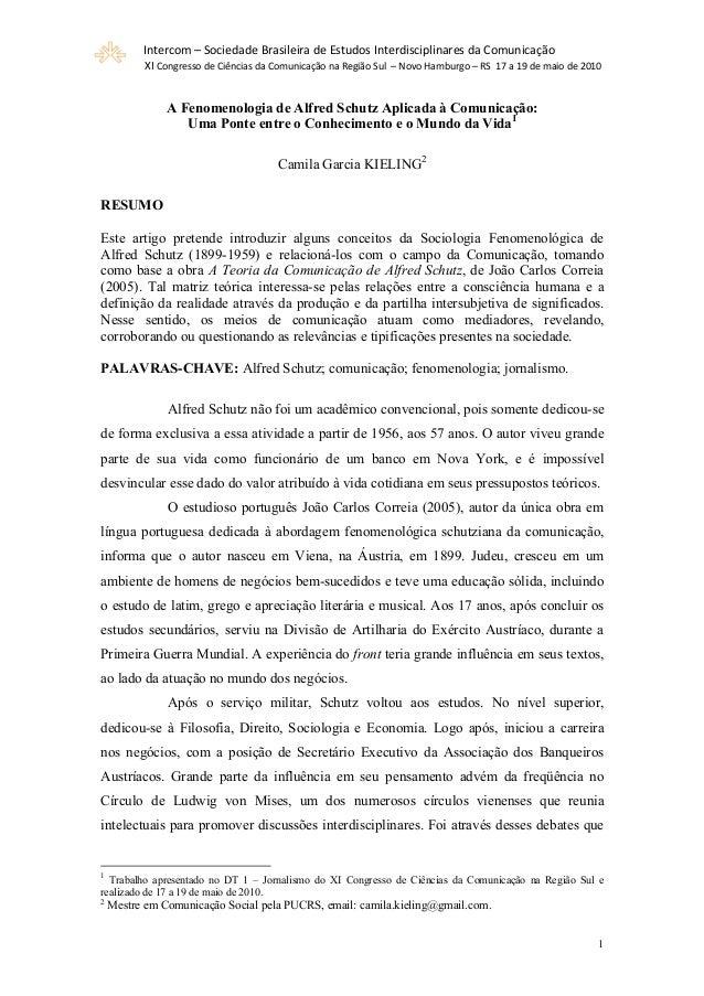 Intercom – Sociedade Brasileira de Estudos Interdisciplinares da Comunicação  XI Congresso de Ciências da Comunicação na R...