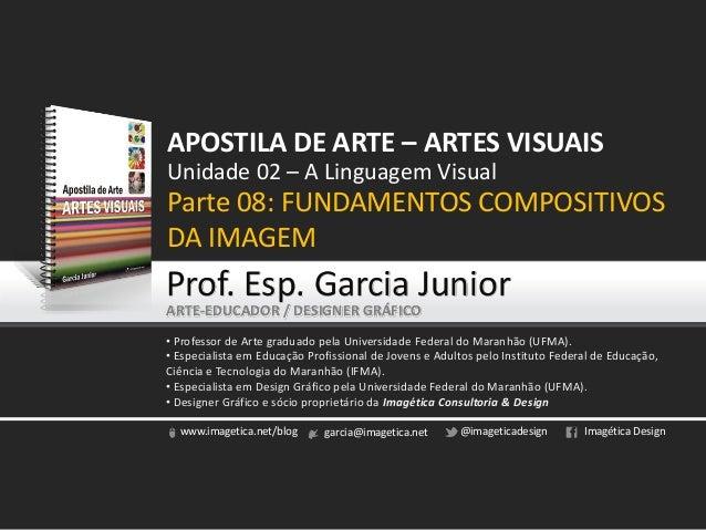 www.imagetica.net/blog garcia@imagetica.net @imageticadesign Imagética Design Unidade 02 – A Linguagem Visual Parte 08: FU...