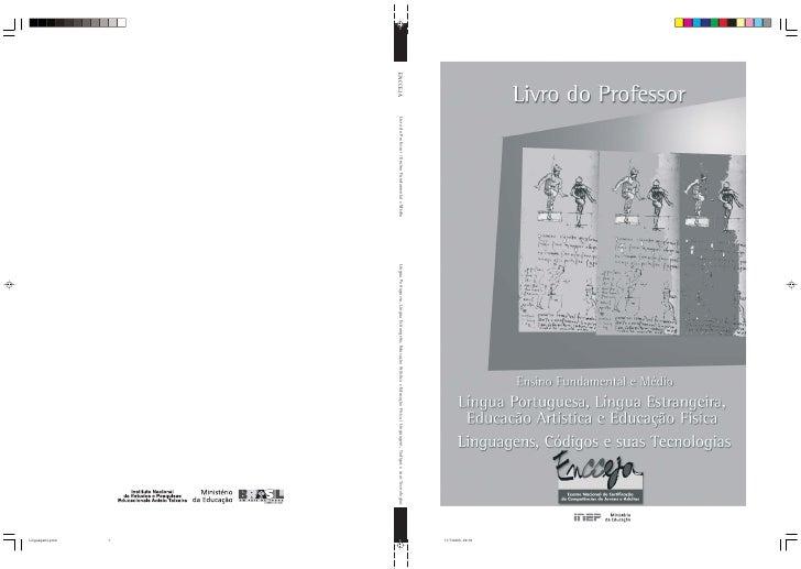 11/7/2003, 09:16 ENCCEJA   Livro do Professor / Ensino Fundamental e Médio   Língua Portuguesa, Língua Estrangeira, Educaç...