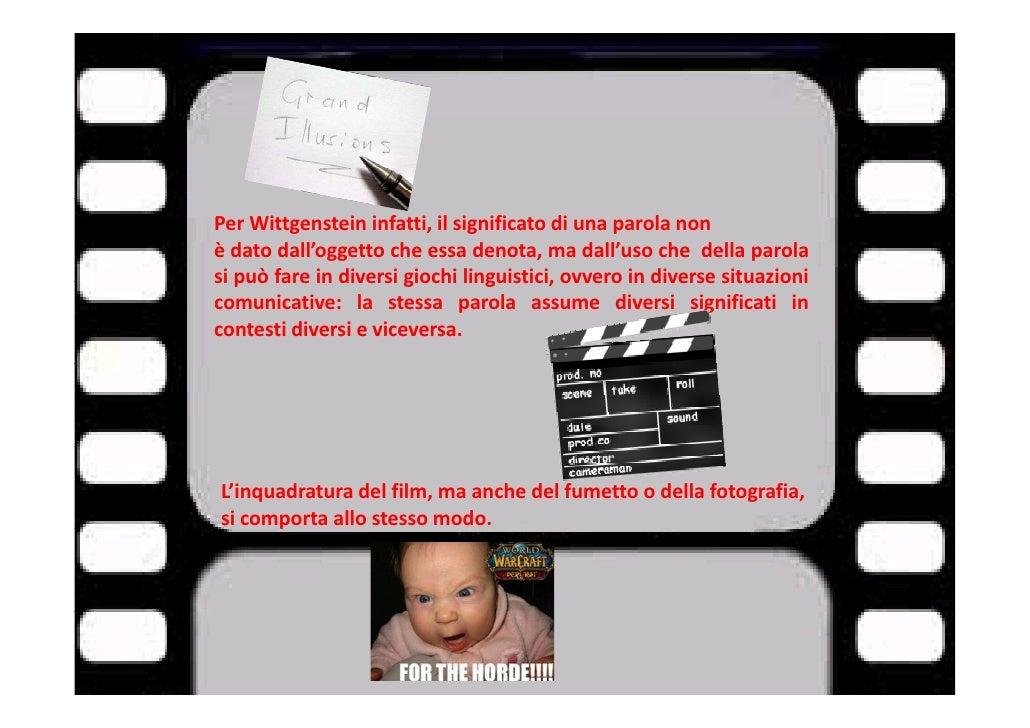 Linguaggio cinematografico - Ludwig wittgenstein pensieri diversi ...