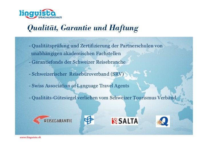 Qualität, Garantie und Haftung- Qualitätsprüfung und Zertifizierung der Partnerschulen von unabhängigen akademischen Fachs...