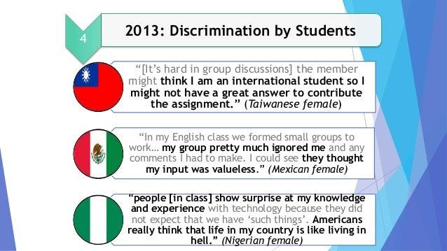 Cultural and Linguistic Discri...