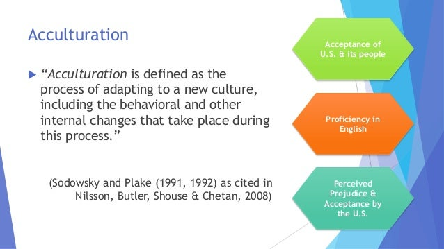 Acculturation Examples 70750 Trendnet