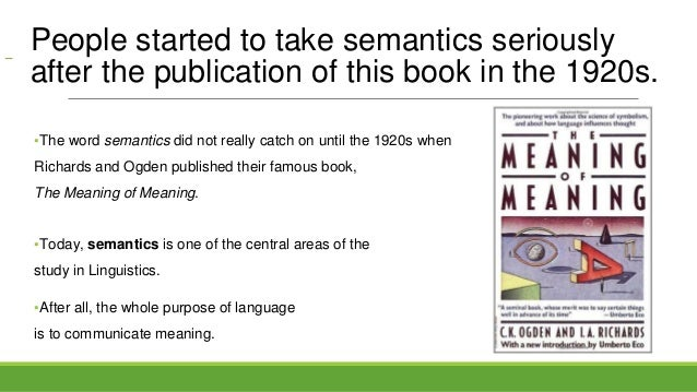 an analysis of semantics from a computational linguistics perspective I am a computational linguist, interested in text analysis from a variety of perspectives — experimental, theoretical, computational, applied i am particularly interested in viewed text as a collaborative enterprise between the author and the reader, and what this entails in terms of author and.