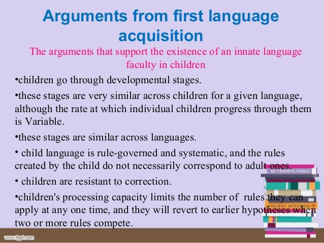 the objectives of the theory of language in linguistic competence Chomsky on linguistic competence and linguistic performance in [noam] chomsky's theory, our linguistic competence is our unconscious knowledge of languages and is similar in some ways to [ferdinand de] saussure's concept of langue, the organizing principles of a language.