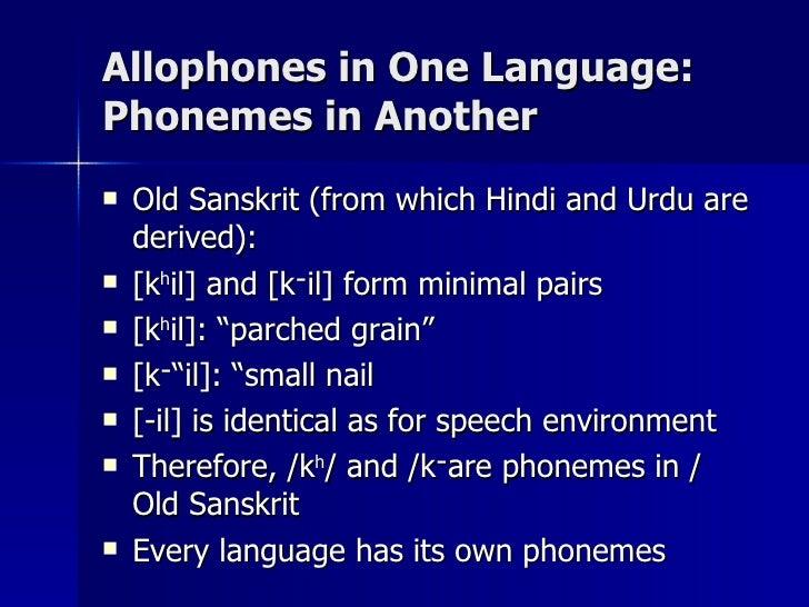 Linguistics: Descriptive and Anthropological