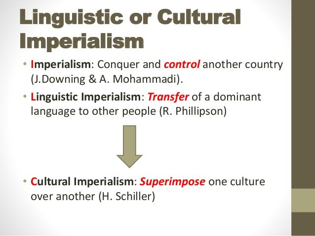 Linguistics imperialism