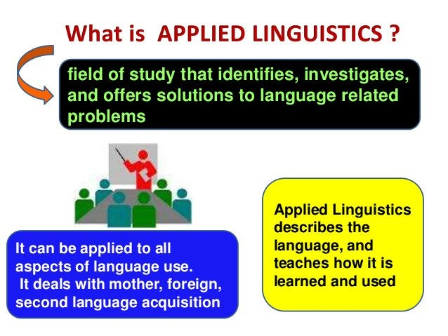 field of study that identifies, investigates,       and offers solutions to language related       problems               ...
