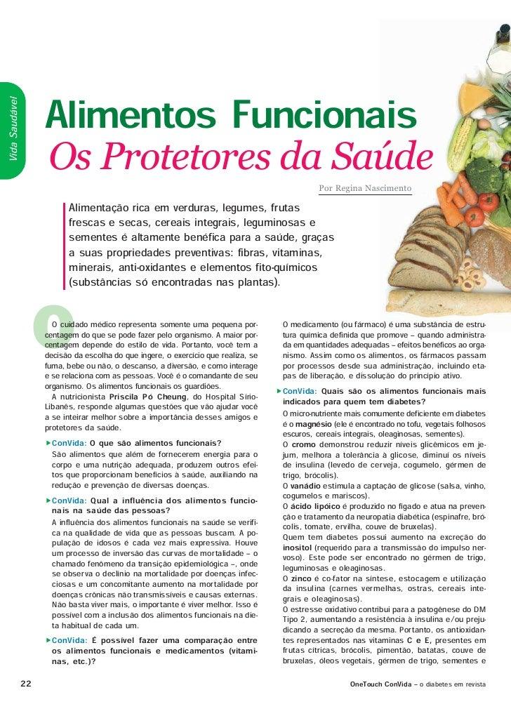 Alimentos Funcionais Vida Saudável                       Os Protetores da Saúde                                           ...