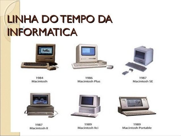 LINHA DO TEMPO DALINHA DO TEMPO DA INFORMATICAINFORMATICA