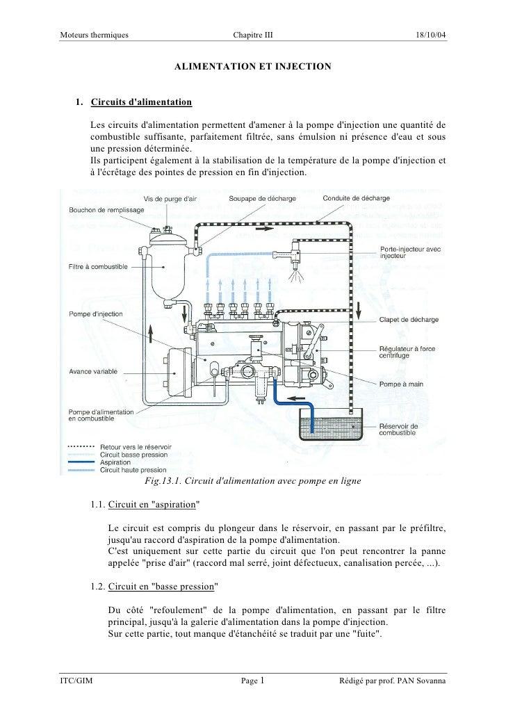 Moteurs thermiques                         Chapitre III                                   18/10/04                        ...
