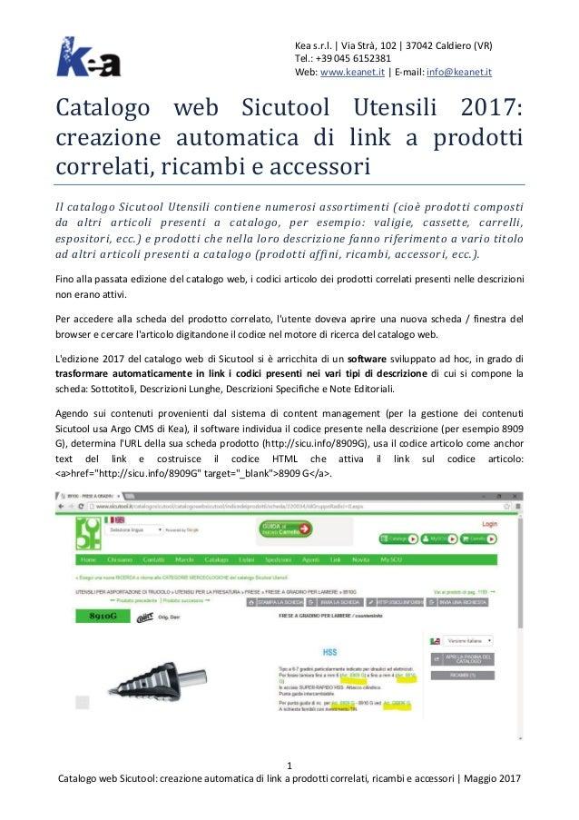 d4f336df5a53 Catalogo web Sicutool Utensili 2017  creazione automatica di link a p…