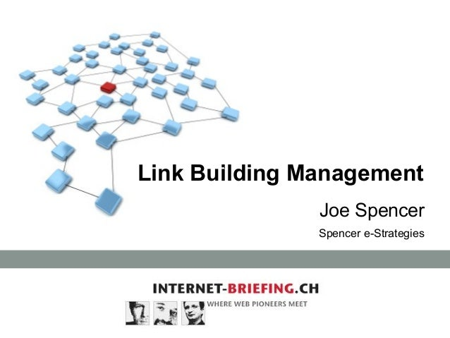 Link Building Management Joe Spencer Spencer e-Strategies