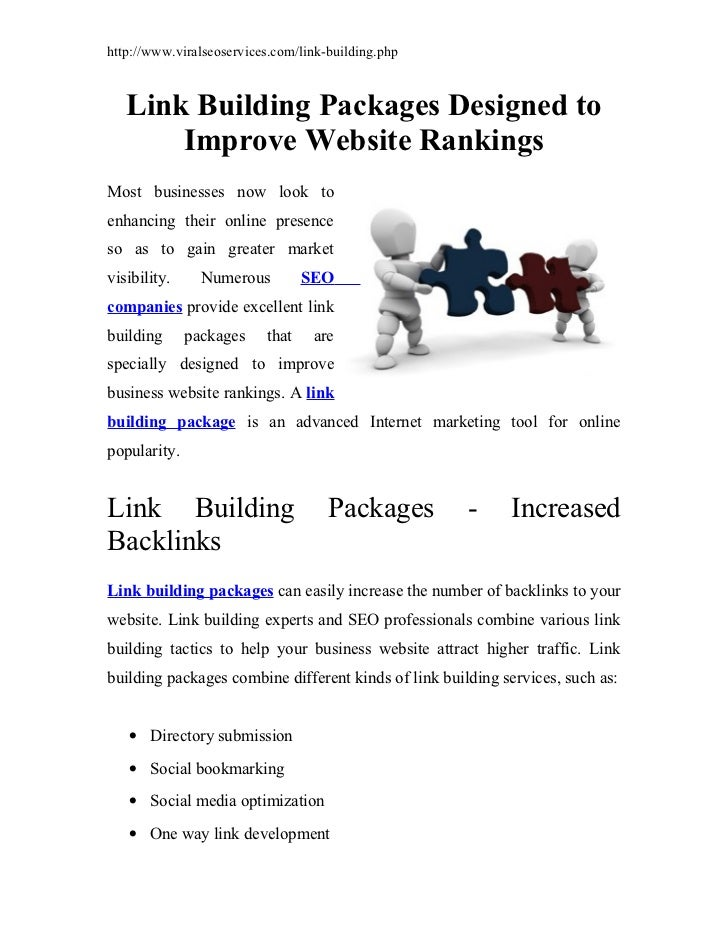 http://www.viralseoservices.com/link-building.php   Link Building Packages Designed to       Improve Website RankingsMost ...