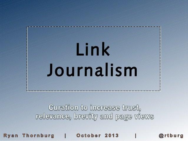 Link Journalism