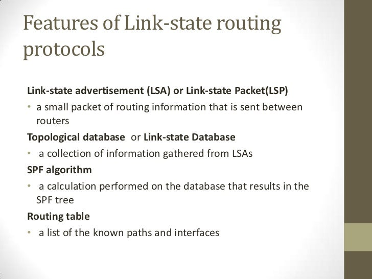 optimize link state routing protocol for An optimized link state routing protocol based on a cross layer design for wireless mesh network wwwiosrjournalsorg.