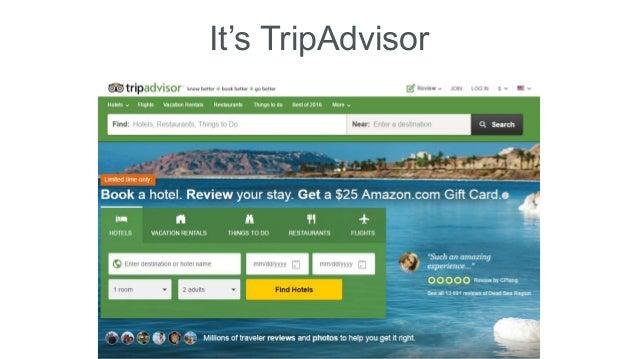 It's TripAdvisor