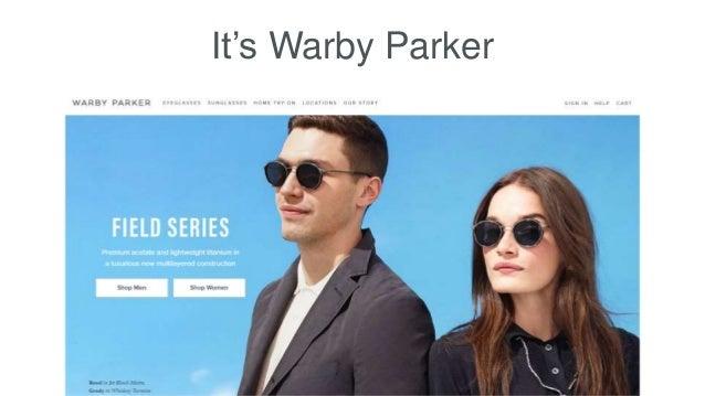 It's Warby Parker