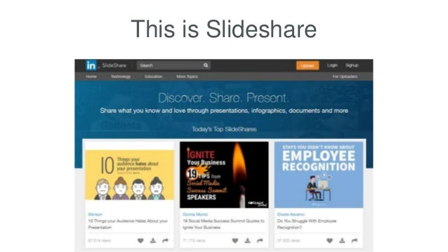 This is Slideshare
