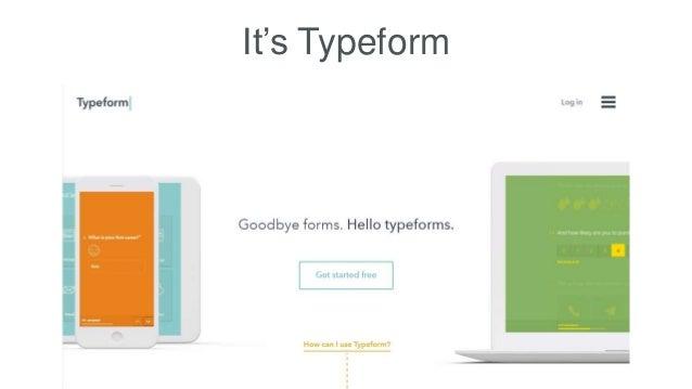 It's Typeform