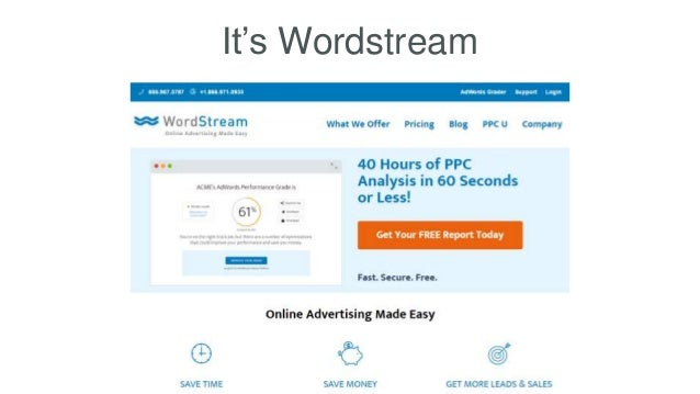 It's Wordstream