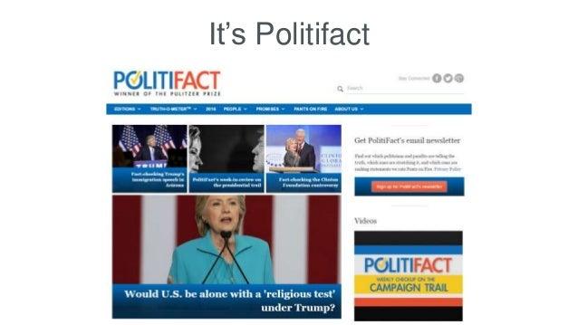 It's Politifact