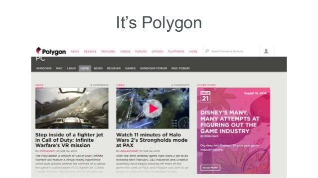 It's Polygon