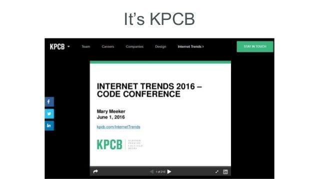 It's KPCB