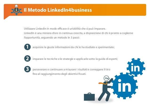 Corso LinkedIn4business, Empoli Slide 2