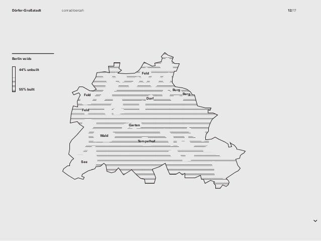 Berlin 55% built 44% unbuilt 44% unbuilt 55% built Berlin 55% built 44% unbuilt Garten Tempelhof Wald See Dörf Berg Feld F...