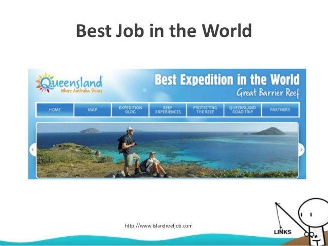 Best Job in the World http://www.islandreefjob.com