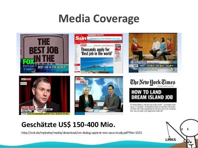 Media Coverage http://ovk.de/mybvdw/media/download/sm-dialog-sapient-niro-case-study.pdf?file=1525 Geschätzte US$ 150-400 ...