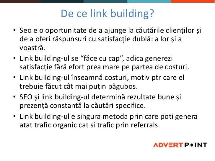 Link building  Tecomm Cluj Slide 3