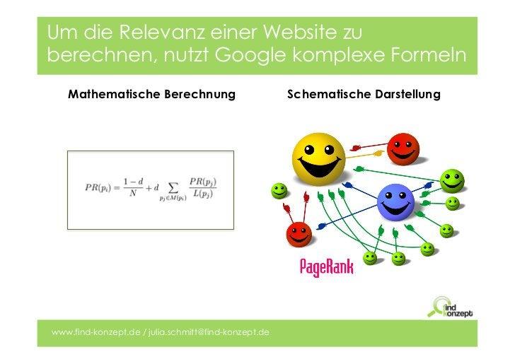 Um die Relevanz einer Website zuberechnen, nutzt Google komplexe Formeln   Mathematische Berechnung                       ...