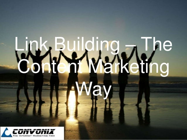 Link Building – TheContent Marketing       Way