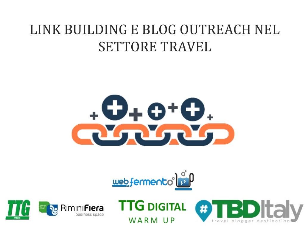 Link building e blog outreach nel settore travel