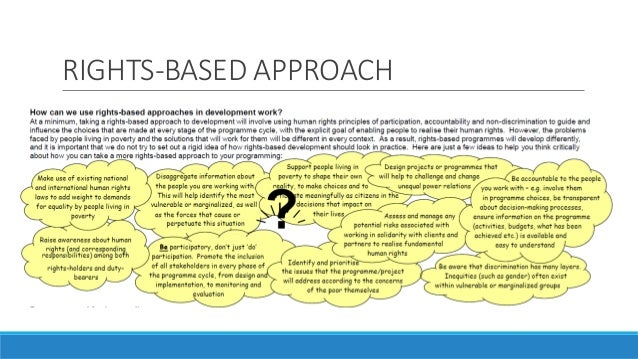 human rights based approach A human rights-based approach to health authors: world health organization office of the high commissioner for human rights (ohchr).