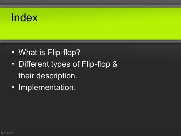 Alternate Flip Flop Circuits D Flip Flop Using Nor Latches