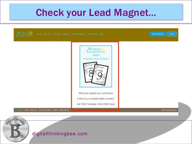 how to link your free downloadable pdf lead magnet to your mailchim
