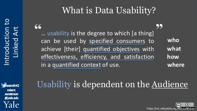 Linked Art: Sustainable Cultural Knowledge through Linked Open Usable Data Slide 3