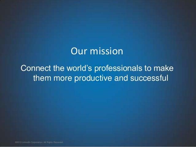 LinkedIn Segmentation & Targeting Platform: A Big Data Application Slide 3