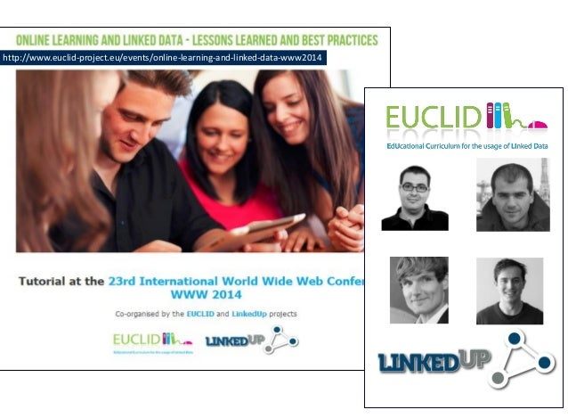 http://www.euclid-project.eu/events/online-learning-and-linked-data-www2014