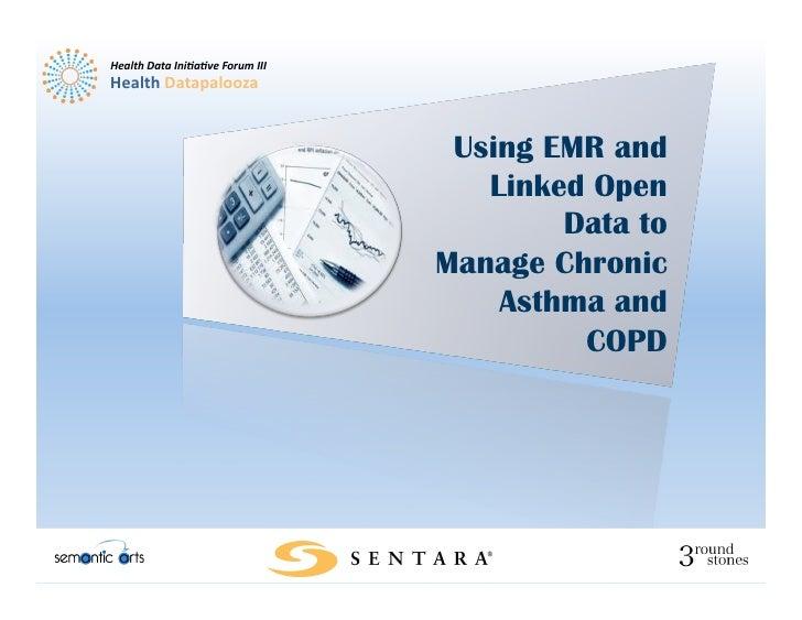 Health Data Ini,a,ve Forum III Health Datapalooza                                                   Using EM...