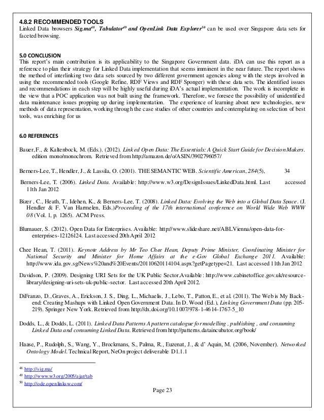 Loan Agreement Form Create. Semantic Web Design For Www Data Gov Sg  Technical Report