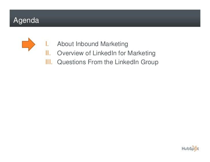 How to Use LinkedIn for Marketing Slide 2