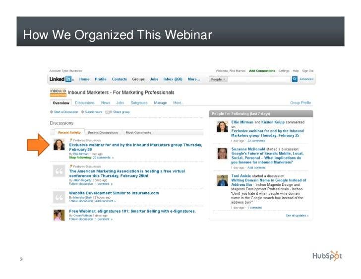 How to Use LinkedIn for Marketing Slide 3