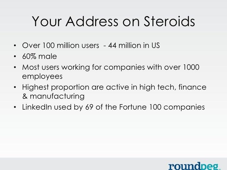 Are you LinkedIn? Slide 3