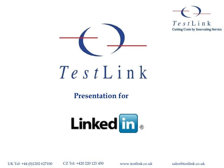Presentation for